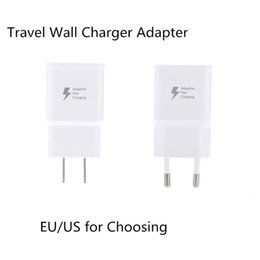 Wholesale OEM Samsung S6 USB Power Adapter Universal Home Battery Charger V A V A In One Port usb wall Chargers travel AC Adapters