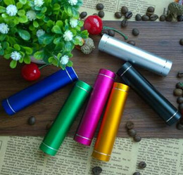 Wholesale Cheap Power Bank Portable mAh Cylinder PowerBank External Backup Battery Charger Emergency Power Pack Chargers for all Mobile Phones UPS