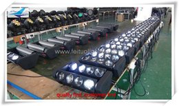(12 lot)Stage light spider led beam 4in1 rgbw 8x10w moving head spider led beam white