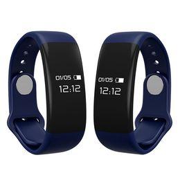 Wholesale Good Quality Smart Bluetooth Heart Rate Monitor waterproof bracelet Sleep Fitness Tracker Anti lost reminder smartband