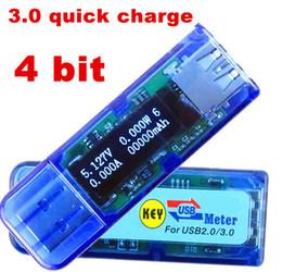 USB 3.0 High voltage 4 bit OLED QC 2.0 detector capacity tester meter voltmeter ammeter voltage current power