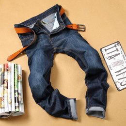 Wholesale 2016 Brand Medorslee Directly Canister Self cultivation Men s M Robin Mens Blue Jeans Pants Designs For Men Fashion