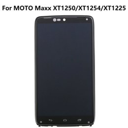 Wholesale touch screen digitizer replacement assembly parts display original lcd for motorola droid razr maxx xt913 xt916