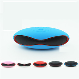Wholesale Bluetooth Mini Speaker Small Football Bluetooth Wireless Card High Audio Quality Mini Portable Outdoor Speakers Acoustics Subwoofer