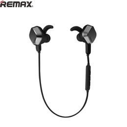 Wholesale Original REMAX Magnet RM S2 Bluetooth Sport HeadPhones Adsorption Stereo EarPhone Pour Android Phone Pour IOS