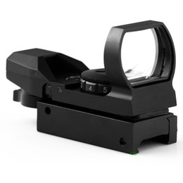2016 BIJIA New Arriveral Red Dot Reflex Sight with 4 Different Reticles Telescope Gunsight Sighting Device