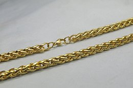 Wholesale KT jewelry chain necklace pendant men and women fashion wild Length inches Width mm weight g