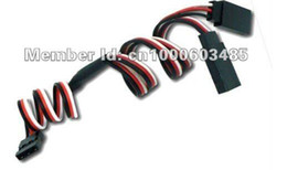 500 pairs by DHL Fedex 300mm 30cm RC Servo Y Extension Cord Cable Wire for RC Model Toys