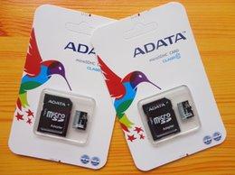 Wholesale 100 Brand New Adata High speed GB GB smart MicroSDHC MicroSD XC Card Memory Card for samsung Galaxy s7