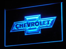 d033 Chevrolet LED Neon Sign Bar Beer Decor Free Shipping Dropshipping Wholesale 7 colors to choose