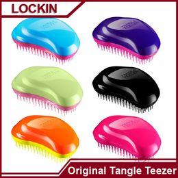Wholesale New Original Tangle Teezer Hair Brush Colors Hair Care Styling Tools Tangle Teezer Detangling Hair Brush Comb Salon Styling Tamer