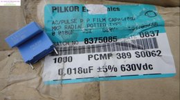 Wholesale Rushed Kit Electrolytic Capacitor Holland Bc Pilkor uf v nf Mkp New Film Capacitors