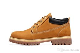 Wholesale 2016 Fashion TlMBERlANDs Men s Boots Wheat for High quality Best Leather Sports Outdoor Waterproof Casual Work Shoes