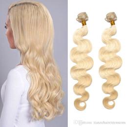 High Quality Brazilian Hair Weaves #613 Blonde 100g pc Body Wave 8A Virgin Human Hair Bundles For White Women Best Hair Extensions