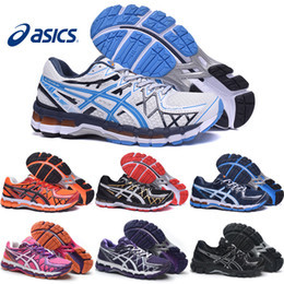 Wholesale Asics Gel Kayano Men Women Running Shoes Top Quality Cheap Training Lightweight Walking Sport Shoes Size