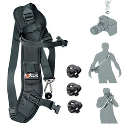 """Focus F-1 Quick Rapid Shoulder Sling Belt Neck Strap for DSLR Camera With 1 4"""" Standard Screw"""