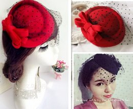 Wholesale MisS Linda Muti layer bow beret women fashion topper Woolen beret winter headdress hair clip Stage hat children hat hair accessories