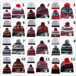 Wholesale football Falcons beanies Winter High Quality Beanie For Men Women Atlanta Skull Caps Skullies Camo Knit Cotton Hats