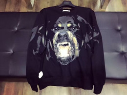 2016 Autumn and winter men hoodies Dog head sweater men's Long sleeve casual sweatshirt sports hoody Men Hooded Sweatshirt Men's clothes