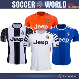 Wholesale Thai Quality Juventus soccer jerseys home away RD Goalkeeper HIGUAIN MARCHISIO DYBALA BUFFON custom football shirts