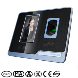 Wholesale 4 inch TFT LCD touch screen Realand f501 face and fingerprint time attendance TCP IP USB network time record machine