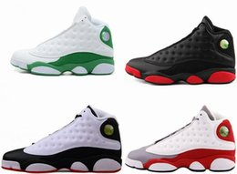Wholesale with Box Cheap Air Retro XIII he got game bred Mens Retros s Basketball Shoes J13 RAY ALLEN PE Hologram Toe French Blue Flint Grey Sale
