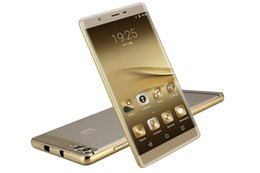 Wholesale quot Huawei Ascend P9 Max Clone Android phone Octa Core Android4 Dual Sim Unlock Smartphone GB RAM GB ROM MP with Gift