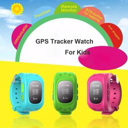 GPS GSM Locator Smartwatch for Kids Children Baby Smart Anti-Lost Wrist Watch Bracelet Pedometer Sleep Tracker for Iphone 7 6s Samsung S8 S7