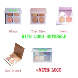 Wholesale 2016 New Branded AB Glow Kit Makeup Face Blush Powder Blusher Palette Cosmetic Blushes Shades Gleam That Glow Sun Dipped