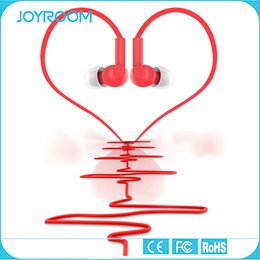 Wholesale JOYROOM Flat Line Headset Headphone Stereo In Ear Ceramic Cavity Earphone with mic Phone Accessories For Smartphones