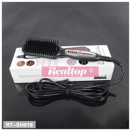 El pelo eléctrico auto del cepillo de la enderezadora del pelo de la manera de las nuevas mujeres de ArrivalWomen que endereza la herramienta casera del pelo del salón de pelo del hogar desde salones para alisar el cabello fabricantes