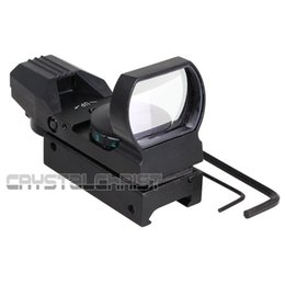 Wholesale Hunting Red Green Type Reticle Airsoft Reflex Holographic Electro Dot Sight Projected Reflex Scope Fit mm Rail