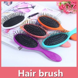 Wholesale Wet Dry Hair Brush Original Detangler Hair Brush Massage Comb With Airbags Combs For Wet Hair Shower Brush