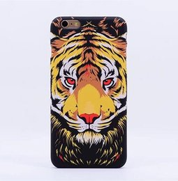 Wholesale Luxo Luminous Animals Owl Lion Tiger Wolf Hard Plastic Phone Case for iPhone s Back Cover for iPhone Plus s Plus