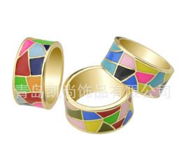 Wholesale-National wind personality drip femal for men women vintage style enamel jewelry men jewelry ceramic free shipping