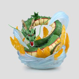 Wholesale 21cm Anime Cartoon Dragon Ball KAI Ichiban KUJI ShenRon ShenLong PVC Figure Collectible Model Toy EMS