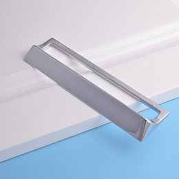 Wholesale factory directly sale aluminum alloy Kitchen Drawer Handle modern style Cabinet Wardrobe Holder bathroom pull Home Furniture Hardware Handle