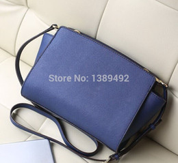 Wholesale-100% PU LEATHER Women bags Messenger bag M color Shoulder Bag designer brand hand bags hand women famous