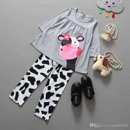 Wholesale 2016 foreign trade hot money children s clothing new spring and autumn children s suit dairy girl set and ret