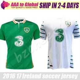 Wholesale Benwon Ireland soccer jersey Ireland away white shirt home Ireland green jerseys shirts top thai quality t shirts