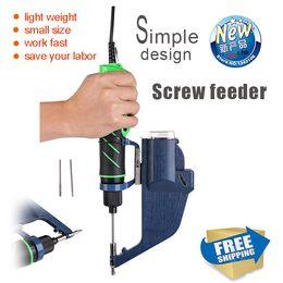 Wholesale SG2 series Precision automatic screw feeder high quality automatic screw dispenser Screw Conveyor Black Color