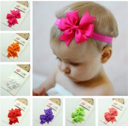 Free DHL Fedex Express Hair Bows Pin for Kids Girls Children Hair Accessories Baby Hairbows Girl Hair Bows with Clips Flower
