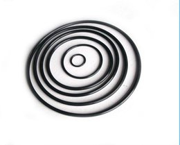 Black NBR70A O-Ring Seals ID177.47,183.82,190.17,196.52,202.87,209.22,215.57,221.92,228.27,234.62mm*C S2.62mm AS568 Standard 100PCS Lot