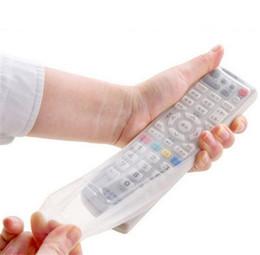 Sacs de rangement TV Remote Support de protection Contrôle de la poussière Cover Organizer article Engrenage Stuff Accessoires Fournitures à partir de silicone couvre pour les télécommandes fournisseurs