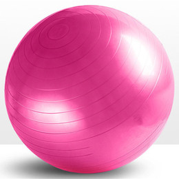 Wholesale-Fitness Exercise Swiss Gym Fit Yoga Core Ball 75 cm Abdominal Back leg Workout Gym Home Balance Exercise trainer Sport Fitball