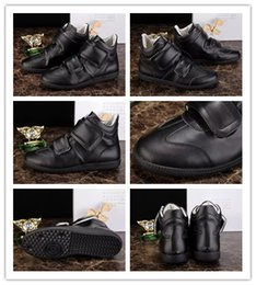 Wholesale Maison Martin Margiela MMM Mid Kanye West Sneakers Luxuries Trainers Men s Fashion Casual Shoes Black