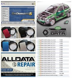 Wholesale HOT new arrive Auto Repair Software Alldata Mitchell all data and Vivid Workshop softwares in tb HDD