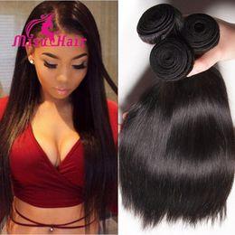 Wholesale 2016 Best Selling Straight Peruvian Hair Bundles Cheap Brazilian Hair Indian Malaysian Unprocessed Human Hair Misu Hair
