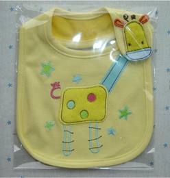 with single package cartoon baby cotton bib baby Bibs three-layer waterproof saliva towel bib Burp Cloths Baby Feeding
