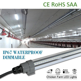 Wholesale Super control dimmable T12 W W IP67 tube light mm mm PC pipe assembly line work light for damp area